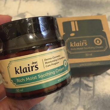 韓國連續17週銷量第一品牌Klairs超級保濕舒緩霜 (敏感皮膚也可以用)