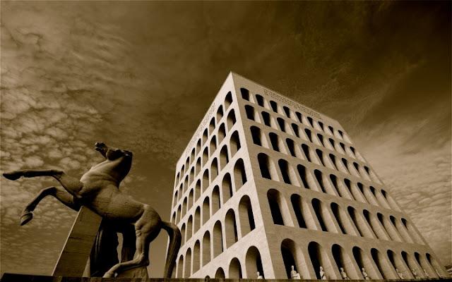 Il Colosseo quadrato... di ClaudioGennari