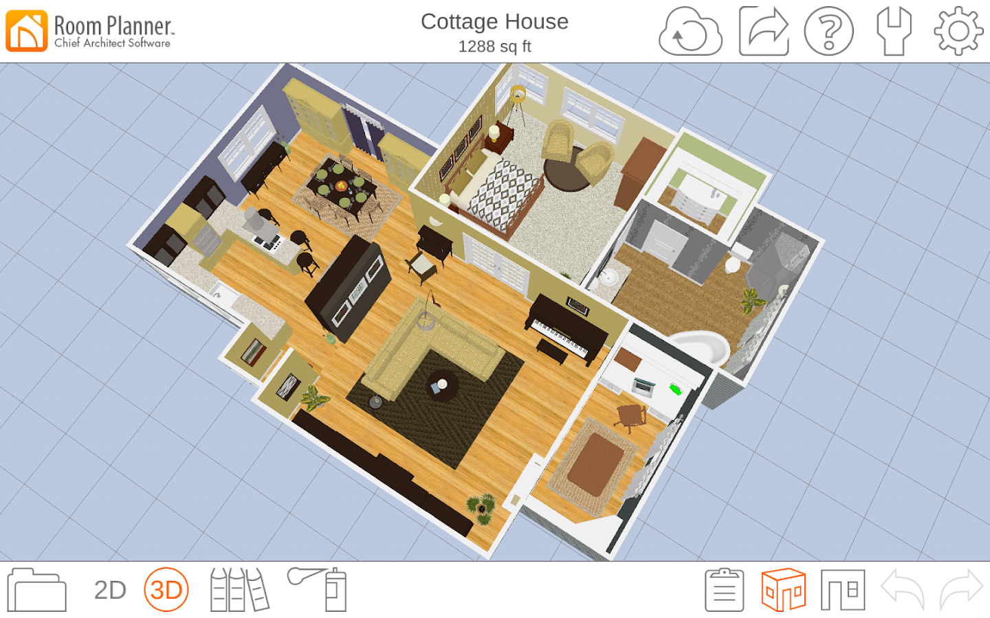 Room planner home design android apps on google play for Software planner