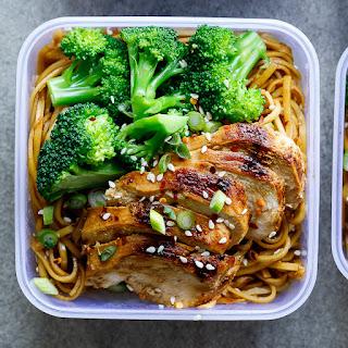Soy Honey Noodle Salad - Meal Prep Recipe