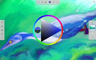 Screenshot of Painter Mobile