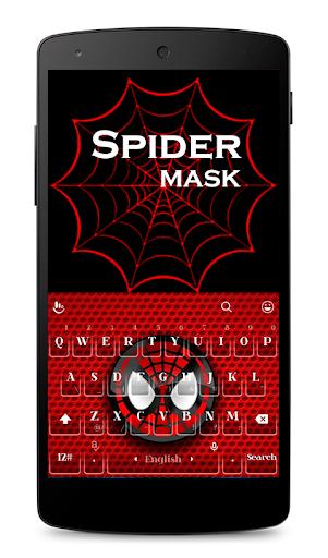 Spider Mask Keyboard Theme