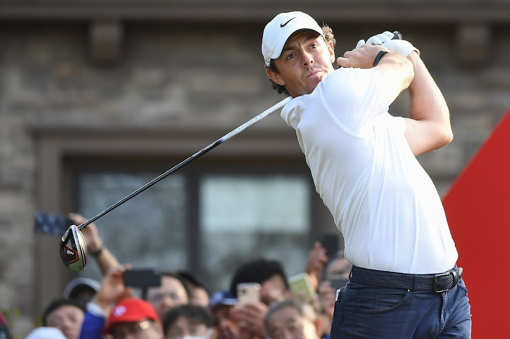 Rory McIlroy's birdie gives him wings in Shanghai