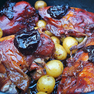 Chicken with Prunes and Potatoes (Meat).