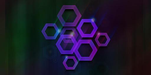 Polygon Neon Theme