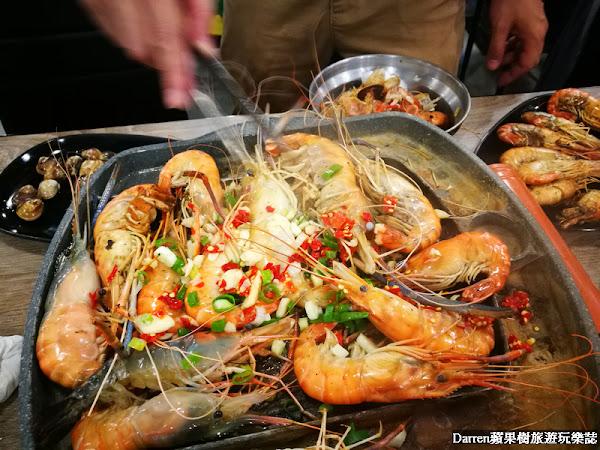 泰蝦PA水道泰國蝦吃到飽/蝦控必訪水道流水泰國蝦無限吃到飽餐廳