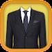 Stylish Man Fashion Photo Suit Icon