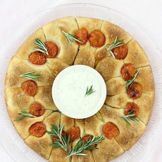 Ranch Dip Bread Wreath