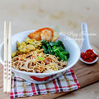 Mie Ayam Kuning (Yellow Chicken Noodle)