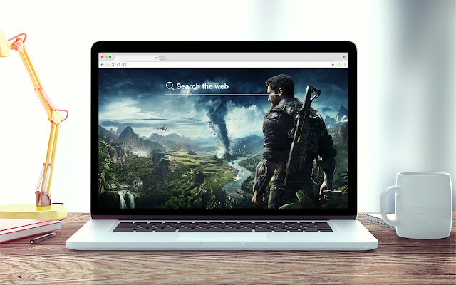 Just Cause 4 New Tab Theme