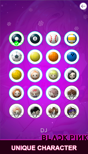 BLACKPINK Dancing Balls:KPOP Music Dance Line Game  screenshots 7