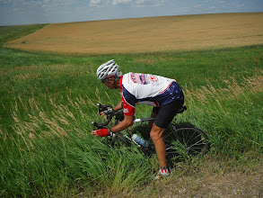 Photo: Day 27 Wall SD to Murdo SD 88 miles 2290' climbing : Jimmy, stay on the road