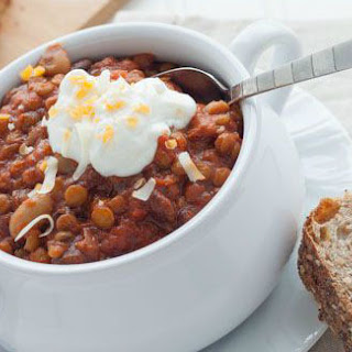 Slow-Cooker Vegetarian Chili.