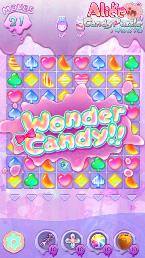 Alice in Candy Puzzle- screenshot