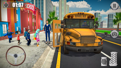 School Coach Bus Driver Game ss1