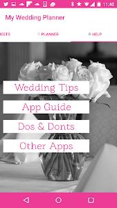 My Wedding Planner screenshot 4