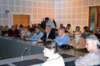 Photo: 6- Le public avant la conférence