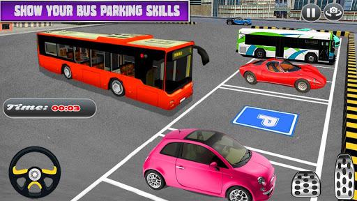 City Coach Bus Simulator Parking Drive 1.0.0 screenshots 2
