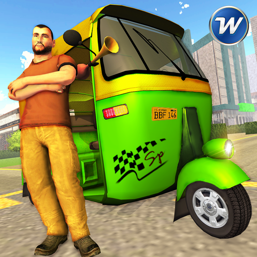 Tuk Tuk Auto Rickshaw Driver 2018: Transport Games (game)