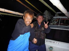 Photo: 夜釣りが終わって、そのまま「熊本」へ! 今日こそ! 「カニすくい」の大漁じゃー!