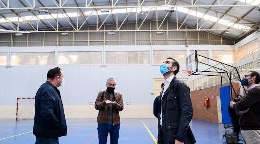El pabellón deportivo del colegio San Indalecio de La Cañada, de cine