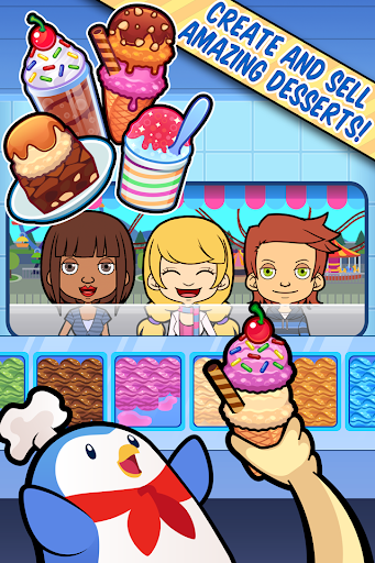 My Ice Cream Truck - Glacu00e9e captures d'u00e9cran 1