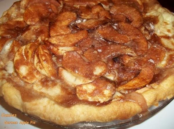 German Apple Pie Recipe