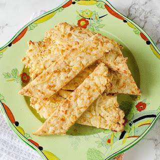 Savoury Cheese Straws.