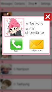 BTS Messenger - náhled
