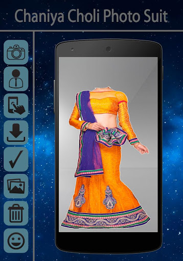 Chaniya Choli Photo Maker Pro