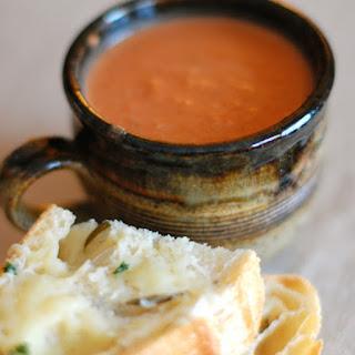Creamy Tomato-Balsamic Soup.