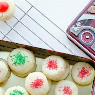 Lemon Scented 'Canada Cornstarch' Shortbread Cookies Recipe
