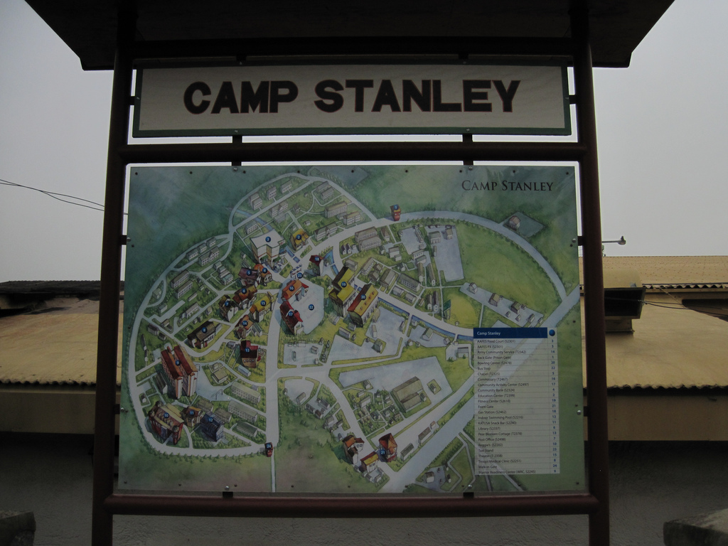 Camp Stanley Military Base South Korea Complete Info Reviews - Map of south korea us army bases