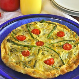 Asparagus and Asiago Frittata