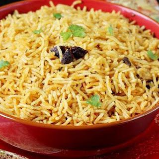 Biryani rice recipe | Kuska rice or plain biryani without veggies.