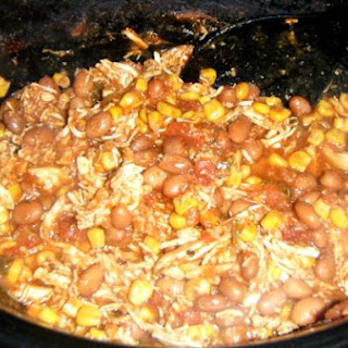 Simple Slow Cooker Chicken and Corn Chili