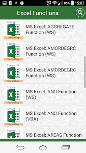 Guide Functions in Excel 2.0