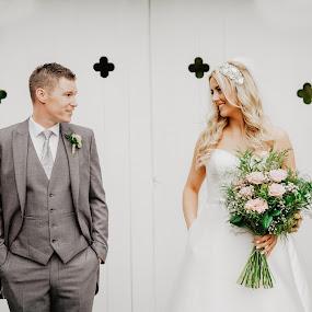 Simply Stunning Bride & Groom ★★★★★ by Kaspars Sarovarcenko - Wedding Bride & Groom ( wedding photography, wedding photographer, wedding details, black diamond photography, weddings, wedding )