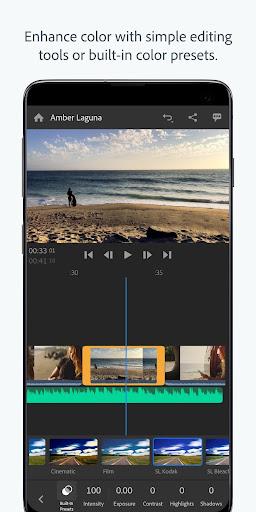 Adobe Premiere Rush u2014 Video Editor 1.5.19.3417 screenshots 5