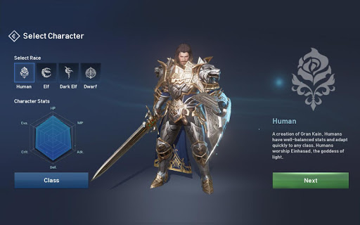 Lineage 2: Revolution - screenshot