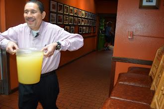Photo: a margarita run at El Pinto Restaurant