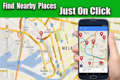 Image result for google map direction nearby places