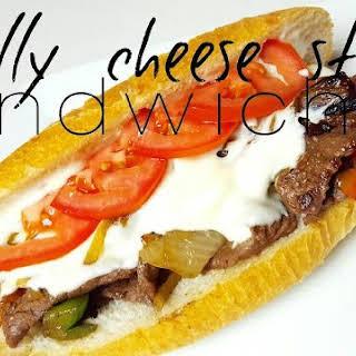 Philly Cheese Steak Sandwiches.