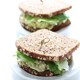 Bacon Avocado Egg Salad Sandwich