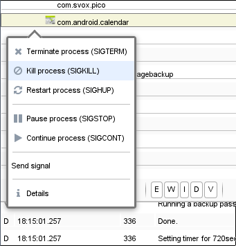 Process Explorer- screenshot