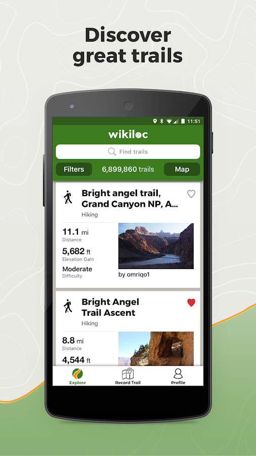 Wikiloc Outdoor Navigation GPS- screenshot