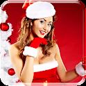 Christmas Girl Live Wallpaper icon