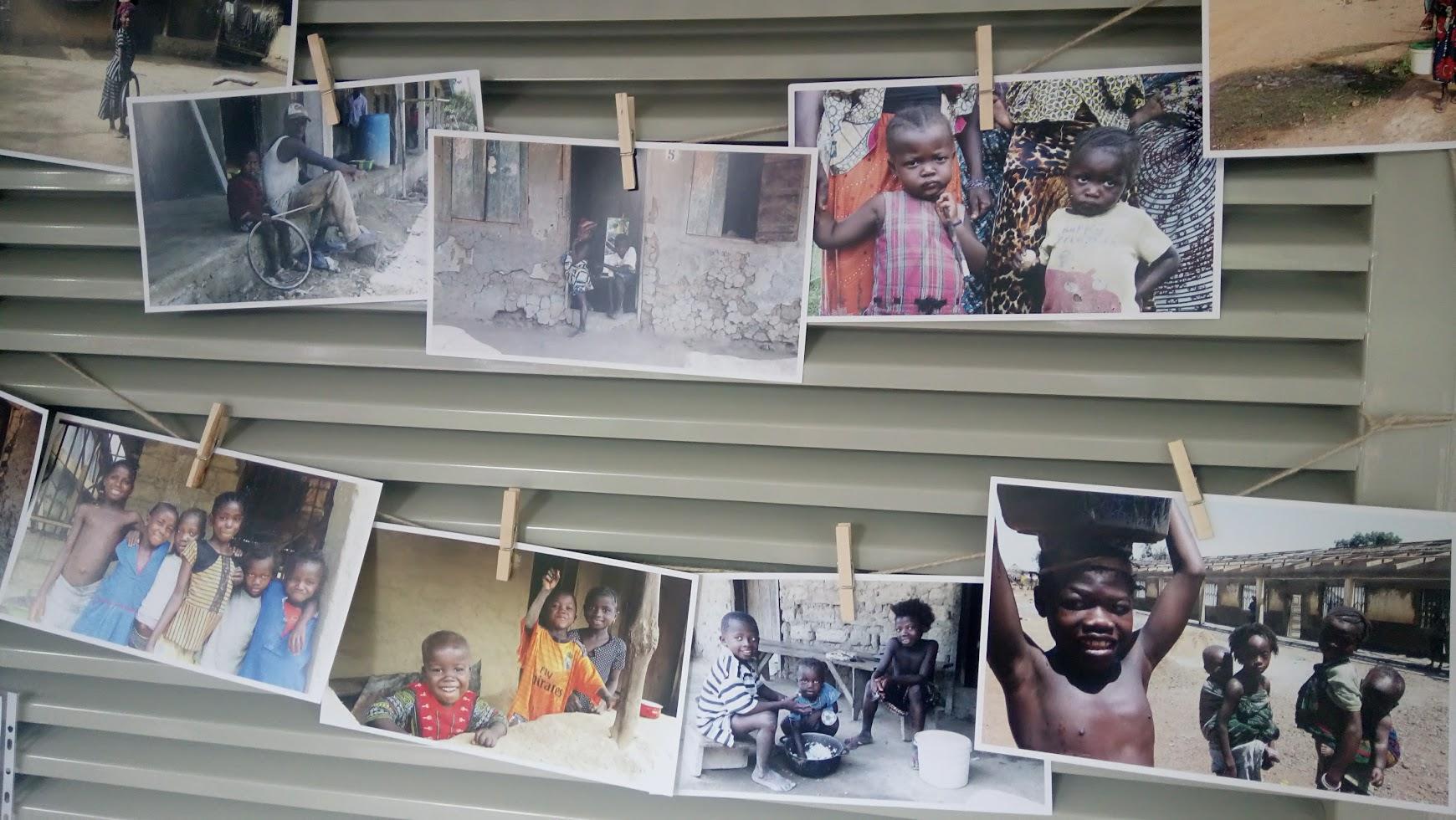fotografías escuela sierra leona de evento solidario