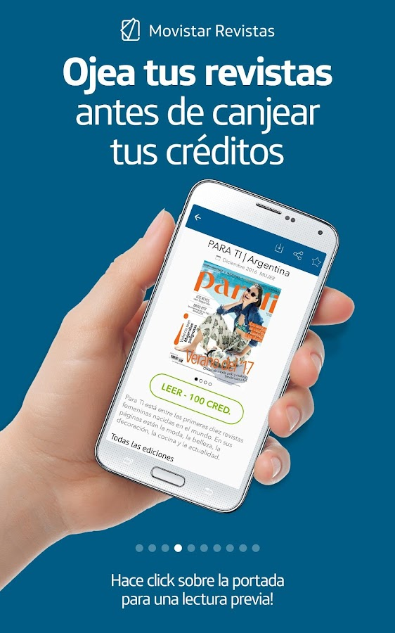 Movistar Revistas- screenshot