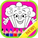 Food Coloring Book For Kids icon